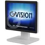 "D Series D19ZH - LED monitor - 19"" - touchscreen - 1280 x 1024 - 250 cd/m² - 1000:1 - 5 ms - HDMI, DVI, VGA - black, silver"