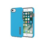 DualPro The Original Dual Layer Protective Case for iPhone 7 - Cyan/Charcoal