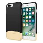 Edge Chrome Two Piece Slider Case for iPhone 7 Plus - Black/Gold
