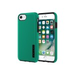 DualPro The Original Dual Layer Protective Case for iPhone 7 - Iridescent Emerald Green/Black