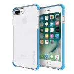 Reprieve [SPORT] Protective Case with Reinforced Corners for iPhone 7 Plus - Clear/Cyan