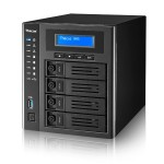 4-Bay NAS Intel Celeron N3160 1.6GHz, 4GB RAM, 4x USB 3.0