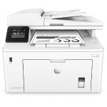 LaserJet Pro MFP M227fdw - Multifunction printer - B/W - laser - Legal (8.5 in x 14 in) (original) - A4/Legal (media) - up to 30 ppm (copying) - up to 30 ppm (printing) - 260 sheets - 33.6 Kbps - USB 2.0, LAN, Wi-Fi(n), NFC, USB 2.0 host