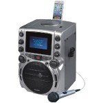 "CD+G Bluetooth Karaoke System with 4.3"" TFT Color Screen"