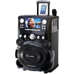 "Professional DVD/CD+G/MP3+G Bluetooth Karaoke System with 7"" TFT Color Screen & Tote Wheels"