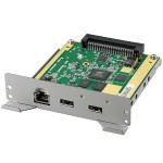 PN-ZB03W - Network / USB adapter - 10/100 Ethernet x 1 + USB 2.0 x 2 - for  PN-R426, PN-R496, PN-R556