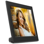 "ASDPF08F - Digital photo frame - 8"" - 800 x 600 - matte black"