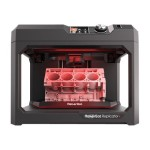 Replicator + Essentials Pack - 3D printer - FDM - build size up to 11.61 in x 7.68 in x 6.5 in - layer: 2.54 mil - USB, LAN, Wi-Fi(n) with 3 years MakerCare Preferred Protection Plan