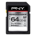 High Performance 64GB SDXC Class 10 UHS-I Up to 85MB/sec
