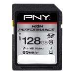 High Performance 128GB SDXC Class 10 UHS-I Up to 85MB/sec
