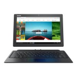 "Miix 510-12ISK 80U1 - Tablet - with detachable keyboard - Core i5 6200U / 2.3 GHz - Win 10 Pro 64-bit - 8 GB RAM - 256 GB SSD - 12.2"" touchscreen 1920 x 1200 - HD Graphics 520 - Wi-Fi - ebony black"