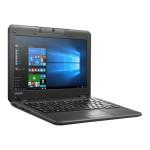 "N22 80S6 - Celeron N3060 / 1.6 GHz - Win 10 Pro 64-bit - 4 GB RAM - 64 GB eMMC - 11.6"" 1366 x 768 (HD) - HD Graphics - Wi-Fi"