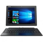 "Lenovo Miix 510-12ISK 80U1 - Tablet - with detachable keyboard - Core i7 6500U / 2.5 GHz - Win 10 Pro 64-bit - 8 GB RAM - 256 GB SSD - 12.2"" touchscreen 1920 x 1200 - HD Graphics 520 - Wi-Fi - ebony black 80U1006DUS"