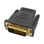 HDMI adapter - HDMI / DVI - HDMI (F) to DVI-D (M)