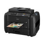 WorkForce Pro WF-R4640 EcoTank - Multifunction printer - color - ink-jet - Legal (8.5 in x 14 in) (original) - A4/Legal (media) - up to 19 ppm (copying) - up to 20 ppm (printing) - 580 sheets - 33.6 Kbps - USB 2.0, Gigabit LAN, Wi-Fi(n), USB host