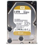 "WD Gold Datacenter Hard Drive WD2005FBYZ - Hard drive - 2 TB - internal - 3.5"" - SATA 6Gb/s - 7200 rpm - buffer: 128 MB"