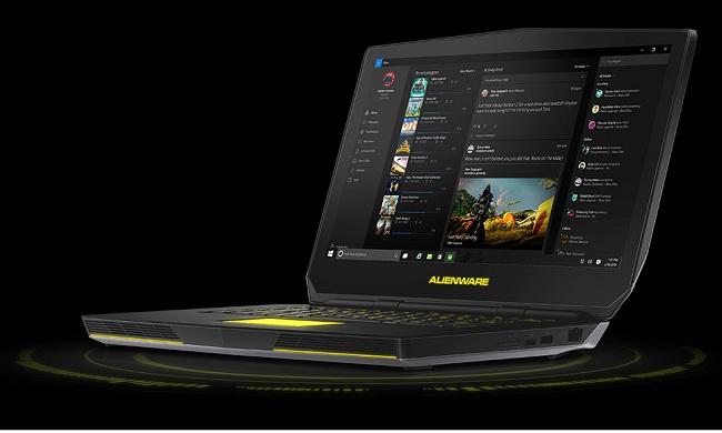 Dell Alienware 15 R2 - Core i7 6700HQ / 2 6 GHz - Win 10 Home 64-bit - 16  GB RAM - 256 GB SSD + 1 TB HDD - 15 6