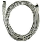 "40 Meter (157"") FireWire 400 4-Pin (1394A) to FireWire 400 6-Pin (1394A) Cable"
