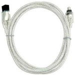 "09 Meter (36"") FireWire 800 9-Pin (1394B) to FireWire 400 4-Pin (1394A) Cable"