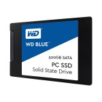 "WD WD Blue PC SSD WDS500G1B0A - Solid state drive - 500 GB - internal - 2.5"" - SATA 6Gb/s WDS500G1B0A"