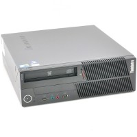 Lenovo ThinkCentre M90p Intel Core i5-650 Dual-Core 3.20GHz Small Form Factor Desktop PC - 8GB RAM, 2TB HDD, DVD-ROM, Gigabit Ethernet - Refurbished MBIBMM90P-3.2CI5-1D