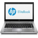 "EliteBook 8470b Intel Core i5-3320M Dual-Core 2.60GHz Notebook - 8GB RAM, 128GB SSD, 14"" HD LED, DVD-ROM, Gigabit Ethernet, 802.11b/g, Bluetooth, Webcam, Media Reader, 6-cell (62WHr) Li-Ion, Silver - Refurbished (Off-Lease)"