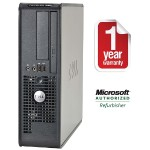 OptiPlex 380 Intel Core 2 Duo 2.93GHz Small Form Factor PC - 4GB RAM, 250GB HDD, DVD+/-RW, Gigabit Ethernet - Refurbished