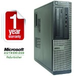 OptiPlex 390 Intel Core i5-2400 Quad-Core 3.10GHz Desktop PC - 8GB RAM, 500GB HDD, DVD+/-RW, Gigabit Ethernet - Refurbished
