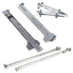 2/4-Post Rack Rails Kit - Rack Rail Kit - 1U
