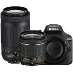 D3400 Two Lens Kit - Includes: D3400 DSLR Camera, Ultra-Compact AF-P DX NIKKOR 18-55mm Lens and AF-P DX NIKKOR 70-300mm Lens - Black