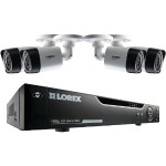 4-Channel MPX 1080p HD 1TB DVR with 4 Weatherproof IR Cameras