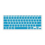 """NuGuard Keyboard Cover for Mid 2011 & later 11"""" MacBook Air Models - Light Blue"""