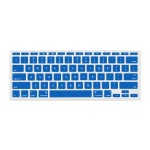 """NuGuard Keyboard Cover for Mid 2011 & later 11"""" MacBook Air Models - Blue"""