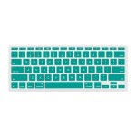 """NuGuard Keyboard Cover for Mid 2011 & later 11"""" MacBook Air Models - Teal"""