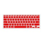 "NuGuard Keyboard Cover for Mid 2011 & later 11"" MacBook Air Models - Red"