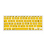 """NuGuard Keyboard Cover for Mid 2011 & later 11"""" MacBook Air Models - Yellow"""