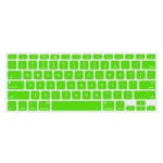 """NuGuard Keyboard Cover for 2011 & later 13"""" MacBook Air and MacBook Pro with Retina display models - Green"""