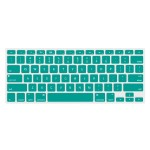 "NuGuard Keyboard Cover for 2011 & later 13"" MacBook Air and MacBook Pro with Retina display models - Teal"