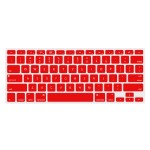"""NuGuard Keyboard Cover for 2011 & later 13"""" MacBook Air and MacBook Pro with Retina display models - Red"""
