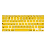 """NuGuard Keyboard Cover for 2011 & later 13"""" MacBook Air and MacBook Pro with Retina display models - Yellow"""