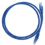 """36"""" (0.9m) Ethernet Category 6 Enhanced RJ45 Network Patch Cable - Blue"""