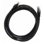 "84"" (2.1m) Ethernet Category 6 Enhanced RJ45 Network Patch Cable - Black"