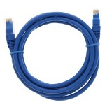 "84"" (2.1m) Ethernet Category 6 Enhanced RJ45 Network Patch Cable - Blue"