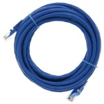 "168"" (4.2m) Ethernet Category 6 Enhanced RJ45 Network Patch Cable - Blue"