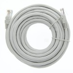 "300"" (7.6m) Ethernet Category 6 Enhanced RJ45 Network Patch Cable - Grey"