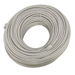 328' (100m) Ethernet Category 7 Enhanced RJ45 Network Patch Cable - Grey