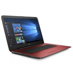 """17-x013ds Intel Pentium N3710 Quad-Core 1.60GHz Notebook PC - 8GB RAM, 2TB HDD, 17.3"""" HD+ WLED, Fast Ethernet, 802.11b/g/n, Webcam, 3-cell 31WHr Lithium-ion, Cardinal Red - Refurbished"""