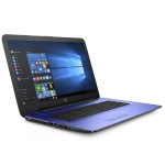 "17-x015ds Intel Pentium N3710 Quad-Core 1.60GHz Notebook PC - 8GB RAM, 2TB HDD, 17.3"" HD+ WLED, Fast Ethernet, 802.11b/g/n, Webcam, 3-cell 31WHr Lithium-ion, Noble Blue - Refurbished"