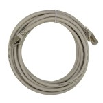 """168"""" (4.2m) Ethernet Category 7 Enhanced RJ45 Network Patch Cable - Grey"""