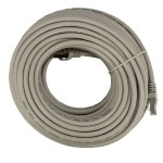 82' (25m) Ethernet Category 7 Enhanced RJ45 Network Patch Cable - Grey